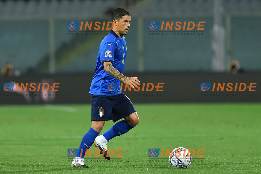 Stefano Sensi of Italy in action during the Uefa Nation League Group Stage A1 football match between Italy and Bosnia at Artemio Franchi Stadium in Firenze (Italy), September, 4, 2020. Photo Massimo Insabato / Insidefoto