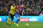 Crystal Palace's Gary Cahill and Arsenal's Alexandre Lacazette challenge for the ball during the Premier League match at Selhurst Park, London. Picture date: 11th January 2020. Picture credit should read: Paul Terry/Sportimage