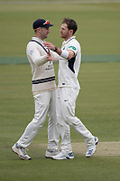 Harris makes the breakthrough for Middlesex with the wicket of Jennings during Middlesex CCC vs Lancashire CCC, Specsavers County Championship Division 2 Cricket at Lord's Cricket Ground on 12th April 2019