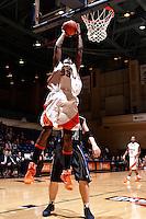 SAN ANTONIO, TX - JANUARY 5, 2009: The Texas Wesleyan University Rams vs. The University of Texas at San Antonio Roadrunners Men's Basketball at the UTSA Convocation Center. (Photo by Jeff Huehn)