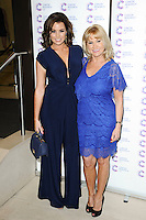 Jessica and Carol Wright arriving at James' Jog On To Cancer Event, Kensington Roof Gardens, London. 09/04/2014 Picture by: Alexandra Glen / Featureflash