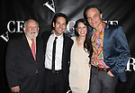 Ed Asner, Paul Rudd, Kate Arrington and Michael Shannon attending the Opening Night Performance After Party for 'Grace' at The Copacabana in New York City on 10/4/2012.