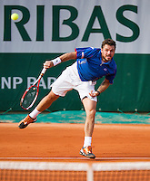 28-05-13, Tennis, France, Paris, Roland Garros, Stanislas Wawrinka