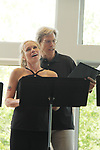 Guiding Light's Beth Chamberlin & Grant Aleksander (also All My Children) - LSPAC (Lower Shore Performing Arts Company) presents the Relaunch of Michael O'Leary's BREATHING UNDER DIRT - Heal - Hope - Love - on May 12, 2018 at the Ward Museum of Wildfowl Art - Salisbury University in Salisbury, Maryland.  (Photo by Sue Coflin/Max Photo)