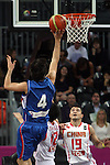 17/08/2011 - Serbia Vs China - London Prepares Basketball Invitational - Olympic Park - Stratford