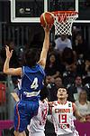 17/08/2011 - Serbia Vs China - London Prepares Basketball Invitational - Olympic Park - Stratford