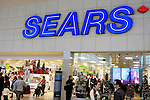 Sears store on Boxing Day in Toronto Ontario Canada.