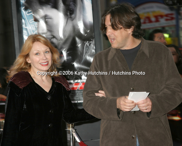 Nancy Wilson & Cameron Crowe Arriving at the.MIssion Impossible 3 Fan Screening.Grauman's Chinese Theater.Hollywood & Highland.Los Angeles, CA.May 4, 2006.©2006 Kathy Hutchins / Hutchins Photo....