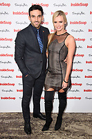 Davood Ghadami &amp; Nadia Bychkova at the Inside Soap Awards 2017 held at the Hippodrome, Leicester Square, London, UK. <br /> 06 November  2017<br /> Picture: Steve Vas/Featureflash/SilverHub 0208 004 5359 sales@silverhubmedia.com