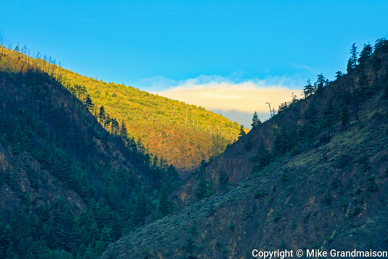 Interior Plateau in Fraser Canyon<br />Near Lillooet<br />British Columbia<br />Canada