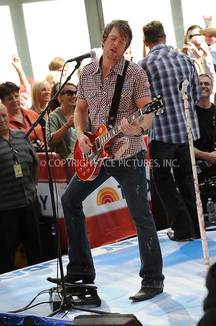 WWW.ACEPIXS.COM . . . . . ....June 11 2010, New York City....Joe Don Rooney of Rascal Flatts performing on NBC's 'Today' show in the Rockefeller Center on June 11, 2010 in New York City.....Please byline: KRISTIN CALLAHAN - ACEPIXS.COM.. . . . . . ..Ace Pictures, Inc:  ..(212) 243-8787 or (646) 679 0430..e-mail: picturedesk@acepixs.com..web: http://www.acepixs.com