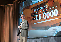David Anderson '63<br /> Occidental College launched the public phase of the Oxy Campaign For Good, a comprehensive effort to raise $225 million to strengthen its financial aid endowment and academic and co-curricular programs, at a May 18, 2019 Campaign Leadership Summit on the Occidental campus. More than 100 Oxy community members participated, getting a first-hand look at current programs and celebrated what the Campaign means for the future of Oxy.<br /> (Photo by Marc Campos, Occidental College Photographer)