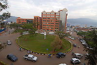 "Afrika Ruanda Kigali , Neubau von Hochhaeusern mit Geldern aus Geschaeften mit dem Kongo - Bauwirtschaft xagndaz | .Africa Rwanda Kigali , new buildings come up with money from business with Congo | [ copyright (c) Joerg Boethling / agenda , Veroeffentlichung nur gegen Honorar und Belegexemplar an / publication only with royalties and copy to:  agenda PG   Rothestr. 66   Germany D-22765 Hamburg   ph. ++49 40 391 907 14   e-mail: boethling@agenda-fototext.de   www.agenda-fototext.de   Bank: Hamburger Sparkasse  BLZ 200 505 50  Kto. 1281 120 178   IBAN: DE96 2005 0550 1281 1201 78   BIC: ""HASPDEHH"" ,  WEITERE MOTIVE ZU DIESEM THEMA SIND VORHANDEN!! MORE PICTURES ON THIS SUBJECT AVAILABLE!! ] [#0,26,121#]"