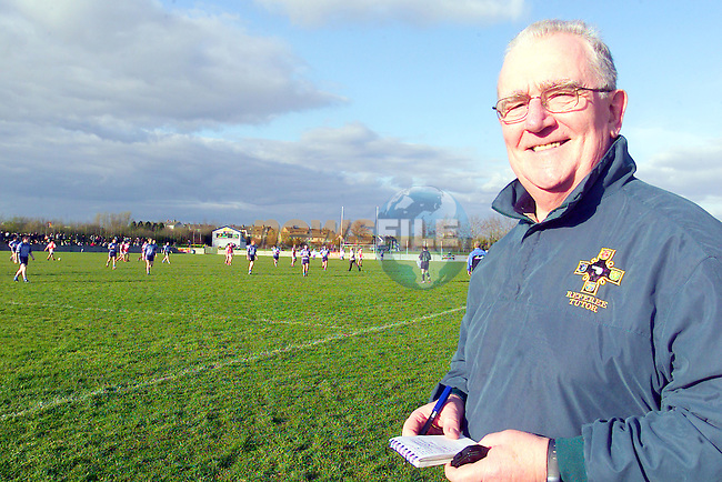 Tony Jordan the Referee Tutot watching the Louth V Dublin U/21 Match in Ardee.Photo Fran Caffrey/Newsfile.ie..This picture has been sent to you by:.Newsfile Ltd,.3 The View,.Millmount Abbey,.Drogheda,.Co Meath..Ireland..Tel: +353-41-9871240.Fax: +353-41-9871260.GSM: +353-86-2500958.ISDN: +353-41-9871010.IP: 193.120.102.198.www.newsfile.ie..email: pictures@newsfile.ie..This picture has been sent by Fran Caffrey.francaffrey@newsfile.ie