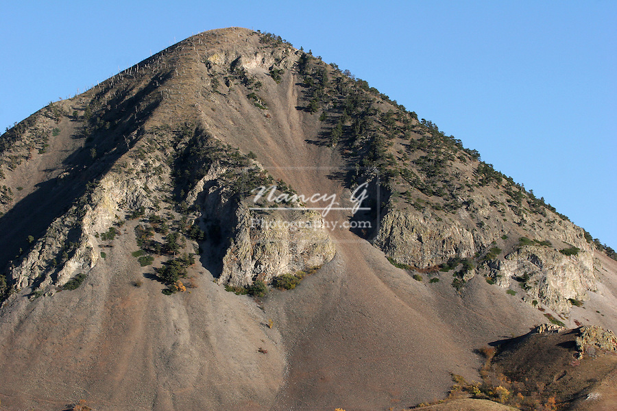 Bear Butte; South Dakota is a travel destination and a religious location for the Native Americans greifenhagen