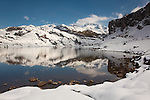 Lake of La Ercina, Covandonga lakes, Asturias, Spain