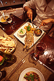MAURITIUS, Flic en Flac, Wolmar, an elaborate lobster dinner at The Cilantro Restaurant, Maradiva Villas Resort and Spa