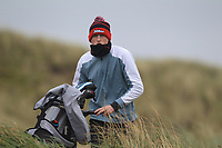 during Round 2 of the Ulster Boys Championship at Portrush Golf Club, Portrush, Co. Antrim on the Valley course on Wednesday 31st Oct 2018.<br /> Picture:  Thos Caffrey / www.golffile.ie<br /> <br /> All photo usage must carry mandatory copyright credit (&copy; Golffile | Thos Caffrey)