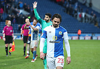 Blackburn Rovers' Bradley Dack at the end of the game<br /> <br /> Photographer Rachel Holborn/CameraSport<br /> <br /> The EFL Sky Bet League One - Blackburn Rovers v Oldham Athletic - Saturday 10th February 2018 - Ewood Park - Blackburn<br /> <br /> World Copyright &copy; 2018 CameraSport. All rights reserved. 43 Linden Ave. Countesthorpe. Leicester. England. LE8 5PG - Tel: +44 (0) 116 277 4147 - admin@camerasport.com - www.camerasport.com