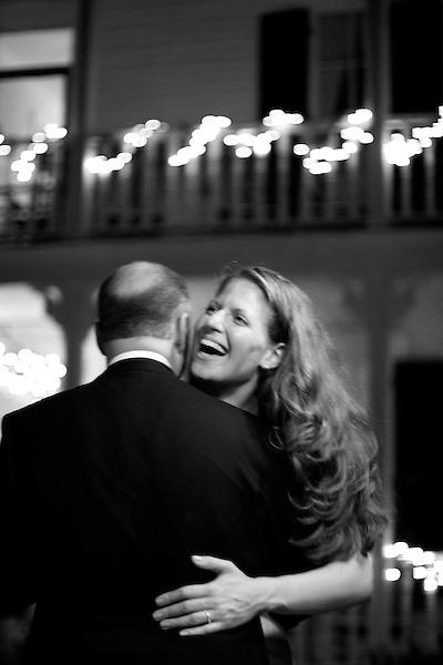 October 6, 2007, Monteagle, TN..Hilary Elkins gets married.