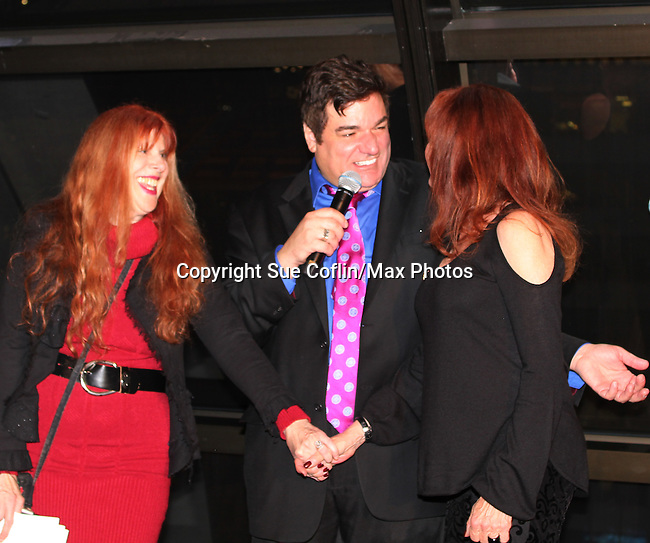 """General Hospital Jacklyn Zeman """"Bobbie Spencer"""" poses with Dale Badway and Jane Elissa. Jackie is honorary chair of The 29th Annual Jane Elissa Extravaganza which benefits The Jane Elissa Charitable Fund for Leukemia & Lymphoma Cancer, Broadway Cares and other charities on November 14, 2016 at the New York Marriott Hotel, New York City presented by Bridgehampton National Bank and Walgreens.  (Photo by Sue Coflin/Max Photos)"""