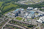 NHS Aintree University Hospital from the Air