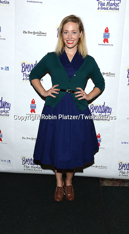 Haven Burton attends the 28th Annual  Broadway Cares/ Equity Fights Aids Flea Market and Auction on September 21,2014 in Shubert Alley in New York City. <br /> <br /> photo by Robin Platzer/Twin Images<br />  <br /> phone number 212-935-0770