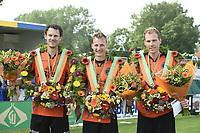 KAATSEN: DRONRIJP: 03-06-2018, winnaars Taeke Triemstra en Tjisse Steenstra, Gert-Anne van der Bos, ©foto Martin de Jong