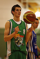 Dan Peck prepares to shoot a penalty attempt during the NBL Round 14 match between the Manawatu Jets  and Wellington Saints. Arena Manawatu, Palmerston North, New Zealand on Saturday 31 May 2008. Photo: Dave Lintott / lintottphoto.co.nz