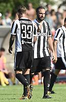 Villar Perosa (To) 17-08-2017 friendly Match Juventus A - Juventus B / foto Daniele Buffa/Image Sport/Insidefoto<br /> nella foto: Gonzalo Higuain-Federico Bernardeschi