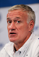 French Head Coach Didier Deschamps during French Press Conference at Clairefontaine-en-Yvelines, Paris, France  on 12 June 2017 ahead of France's friendly International game against England on 13 June 2017. Photo by David Horn/PRiME Media Images.