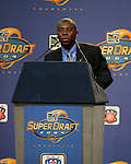 16 January 2004: Freddy Adu was selected with the first overall pick by DC United. The Major League Soccer SuperDraft was held at the Charlotte Convention Center in Charlotte, NC as part of the annual National Soccer Coaches Association of America convention...