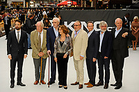 LONDON, ENGLAND - SEPTEMBER 12: Charlie Cox, Michael Gambon, Michael Caine, Francesca Annis, Ray Winstone, Paul Whitehouse, Tom Courtenay and Jim Broadbent attending the World Premiere of 'King Of Thieves' at Vue West End, Leicester Square on September 12, 2018 in London, England.<br /> CAP/MAR<br /> &copy;MAR/Capital Pictures