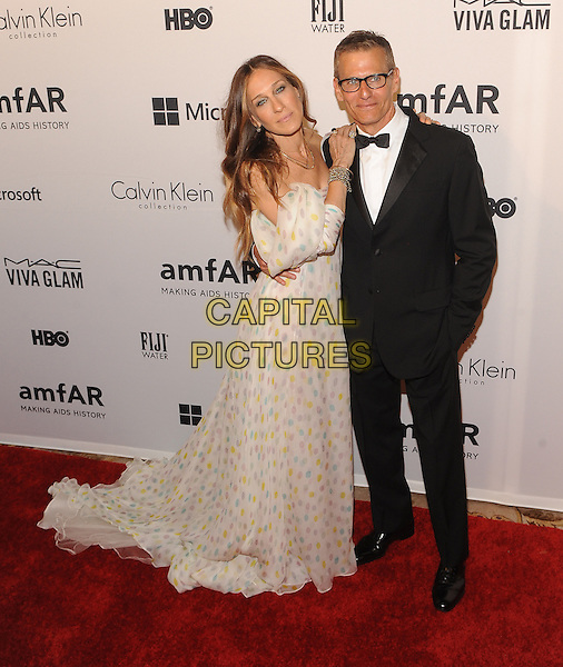 New York,NY- June 10: Sarah Jessica Parker, Michael Lombardo attends the amfAR Inspiration Gala at The Plaza Hotel In New York City on June 10, 2014 .  <br /> CAP/RTNSTV<br /> &copy;RTNSTV/MPI/Capital Pictures