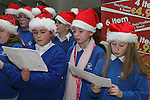 Christmas Carol Singing with Mell National School...Photo NEWSFILE/Jenny Matthews.(Photo credit should read Jenny Matthews/NEWSFILE)....This Picture has been sent you under the condtions enclosed by:.Newsfile Ltd..The Studio,.Millmount Abbey,.Drogheda,.Co Meath..Ireland..Tel: +353(0)41-9871240.Fax: +353(0)41-9871260.GSM: +353(0)86-2500958.email: pictures@newsfile.ie.www.newsfile.ie.FTP: 193.120.102.198.