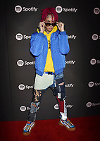 LOS ANGELES, CA - FEBRUARY 07: Kid Buu attends Spotify's Best New Artist Party at the Hammer Museum on February 07, 2019 in Los Angeles, California.<br /> CAP/ROT/TM<br /> ©TM/ROT/Capital Pictures