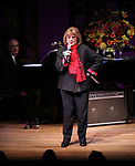 """Larry Yurman & Phyllis Newman performing at the """"Nothing Like A Dame: A Party For Comden And Green"""" at  the Laura Pels Theatre in New York City."""
