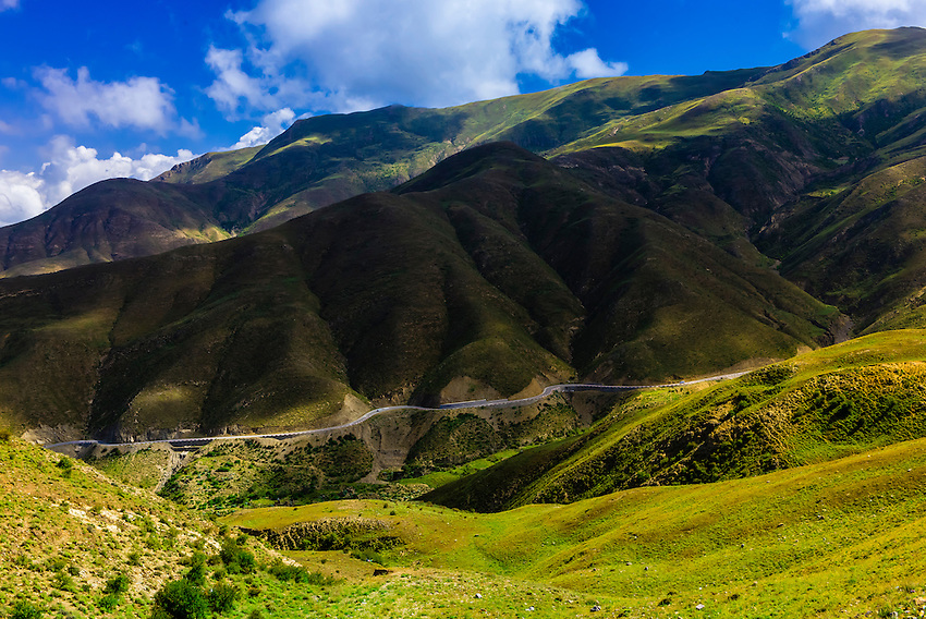 15820 foot Kambala Pass, Tibet (Xizang), China.
