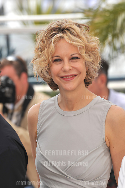 "Meg Ryan at photocall for ""Countdown to Zero"" at the 63rd Festival de Cannes..May 16, 2010  Cannes, France.Picture: Paul Smith / Featureflash"