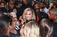 NEW YORK, NY - AUGUST 2: Khloe Kardashian seen on August 2, 2018 in New York City launching Good American activewear at Six02. <br /> CAP/MPI99<br /> &copy;MPI99/Capital Pictures