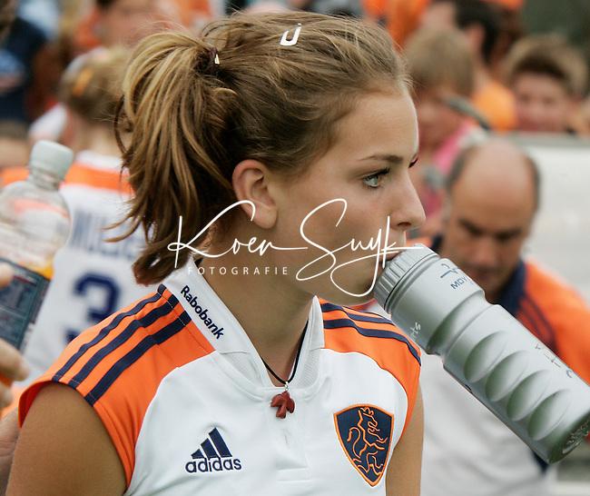 AMSTELVEEN: Champions Trophy 2006 dames. Eva Goede.  ANP PHOTO KOEN SUYK