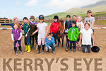 The group of children who enjoyed the Sea View Equestrian Centre summer camp in Baile an Loughig, Baile na nGall, on Friday.