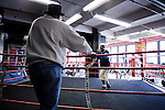 Peter Lawson, 24 years old, of South Jamaica, Queens, has been boxing for 5 years. This will be his 1st Golden Gloves attempt.. Gleason's Gym has continued its long standing tradition in the boxing world as a training ground of competitors by putting 5 fighters into the finals of the 2006 Golden Gloves amateur boxing competition.. An inside look at the last 10 days of training for the 5 young fighters.