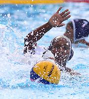 BARRANQUILLA - COLOMBIA, 26-07-2018: Cuba y Puerto Rico durante su participación en la polo acuático femenino como parte de los Juegos Centroamericanos y del Caribe Barranquilla 2018. /  Cuba and Puerto Rico during their participation in women's waterpolo of the Central American and Caribbean Sports Games Barranquilla 2018. Photo: VizzorImage /  Cont