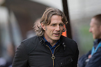 Wycombe Wanderers manager Gareth Ainsworth during the Sky Bet League 2 match between Plymouth Argyle and Wycombe Wanderers at Home Park, Plymouth, England on 30 January 2016. Photo by Mark  Hawkins / PRiME Media Images.