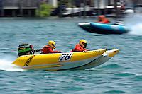 Super Light Tunnells..10-12 July, 2009, 100th Gold Cup, Detroit River, Detroit, MI USA..©2009 F.Peirce Williams, USA.
