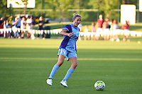 Kansas City, MO - Saturday May 28, 2016: Orlando Pride midfielder Becky Edwards (14). FC Kansas City defeated Orlando Pride 2-0 during a regular season National Women's Soccer League (NWSL) match at Swope Soccer Village.