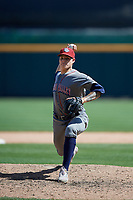 Lehigh Valley IronPigs relief pitcher Yacksel Ríos (23) during an International League game against the Buffalo Bisons on June 9, 2019 at Sahlen Field in Buffalo, New York.  Lehigh Valley defeated Buffalo 7-6 in 11 innings.  (Mike Janes/Four Seam Images)