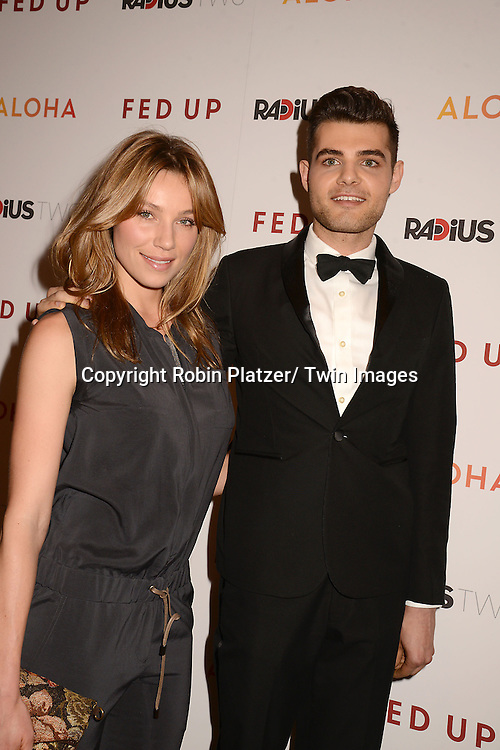 """attends the New York Premiere of """"FED UP"""" on May 6, 2014 at The Museum of Modern Art in New York City."""