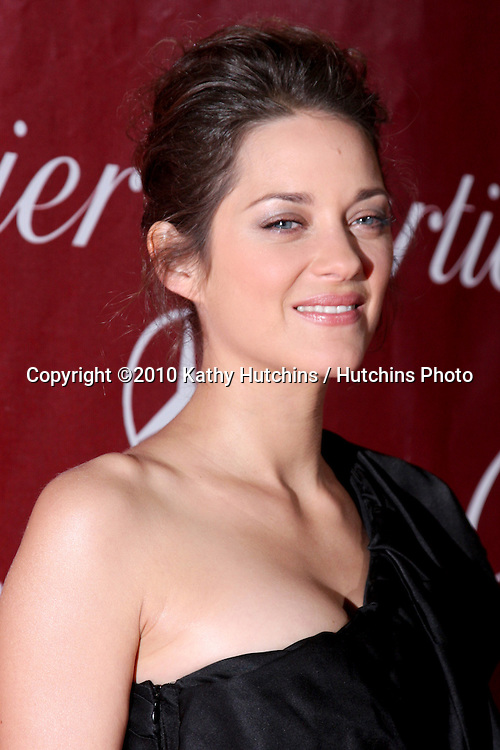 Marion Cotillard .arriving at the 2010 Palm Springs Film Festival Awards Gala.Palm Springs Convention Center.January 5, 2010.©2010 Kathy Hutchins / Hutchins Photo.